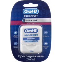 Нитка зубная Oral-B Pro-Expert Clinic Line 25м, шт (5410076635078)