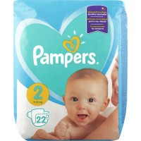 Подгузники Pampers Mini 4-8кг, 22шт/уп (8001090909800)