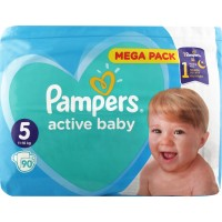 Подгузники Pampers Active Baby Junior 11-16кг, 90шт/уп (8001090951342)