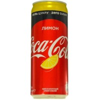 Напиток Coca-Cola Zero Lemon ж/б, 330мл (5449000227157)